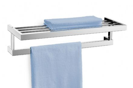 Zack Linea Polished Stainless Steel Towel Shelf 40024